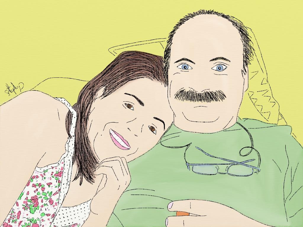 Ana y Serge.