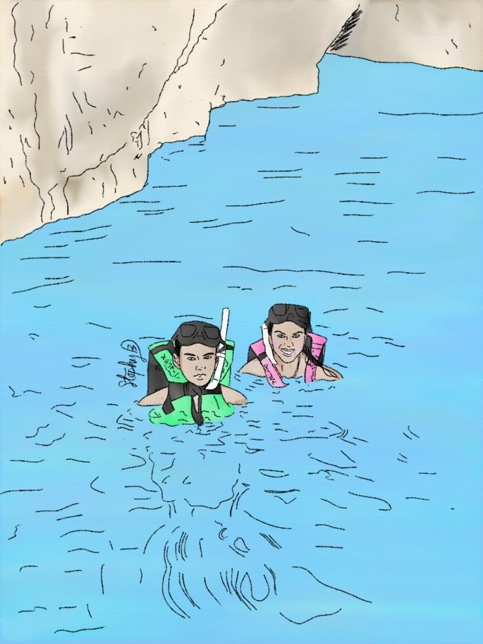 Santiago y Adriana